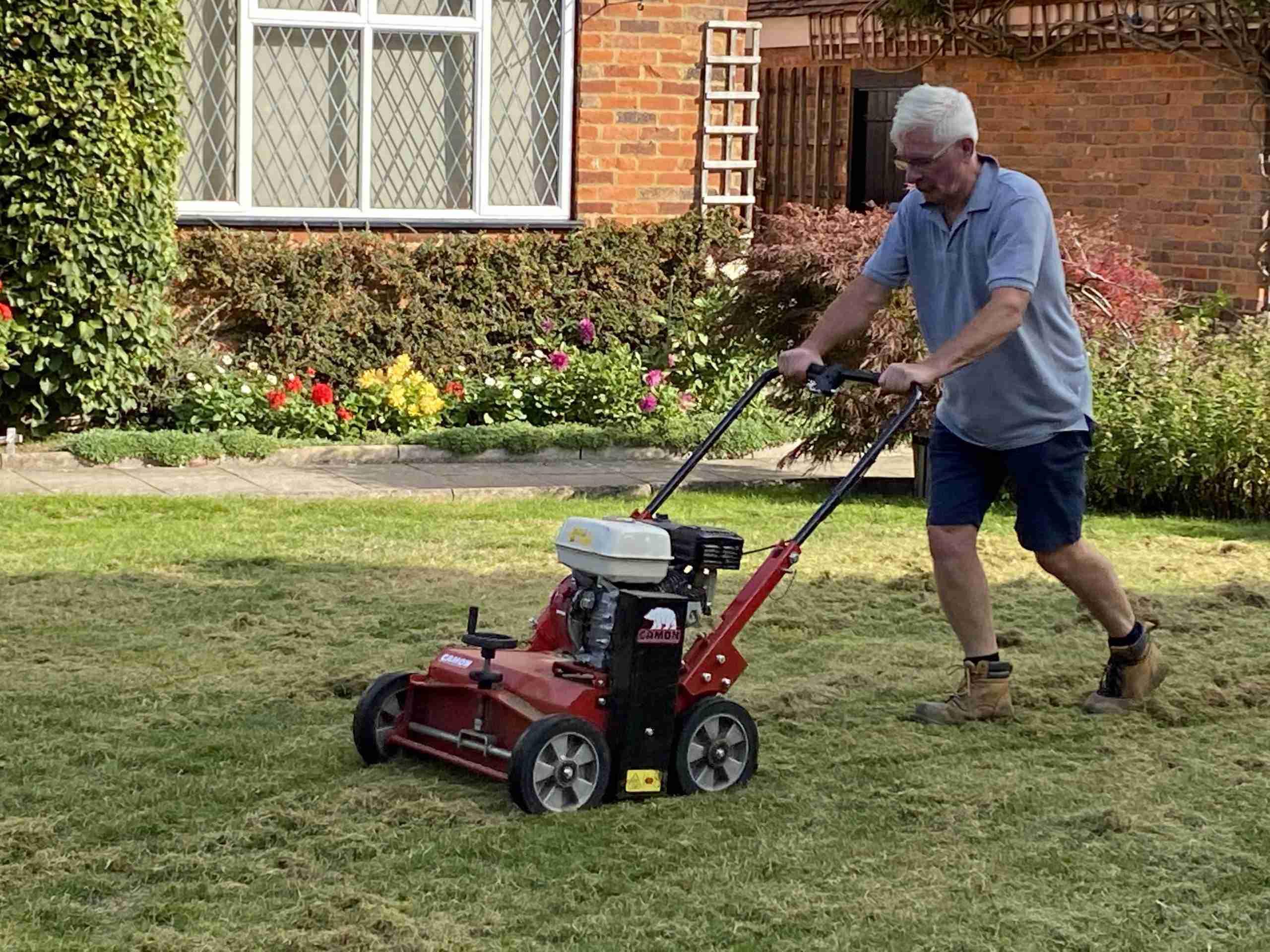 Lawn Scarification - Greengrass Lawn care St Albans